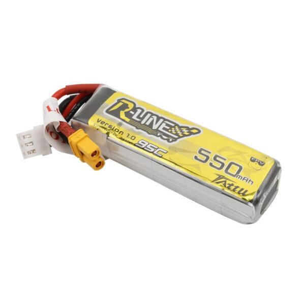 Tattu R-Line 550mAh 7.4V 95C 2S1P Lipo Battery Pack cizfpv baterie drona gensace