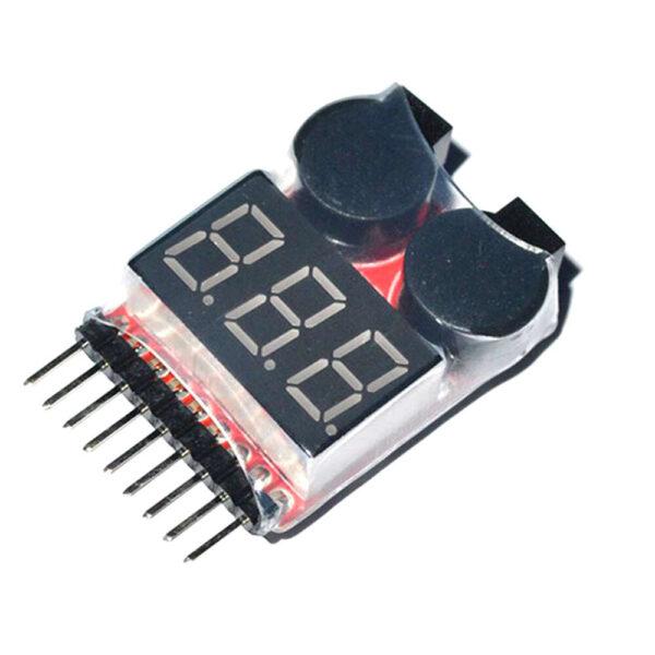 Voltage checker with Buzzer (1-8 Cell) cizfpv romania drone fpv romania