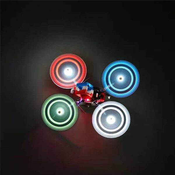 GemfanMoonlightLEDPropsBlue_led props elice gemfan led cizfpv romania drona fpv drone