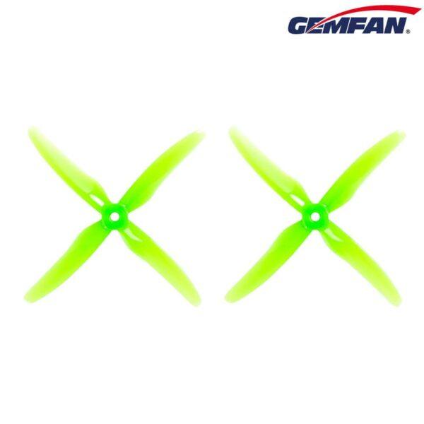 gemfan-hurricane-durable-4-blade-props-51455-series-cizfpv drone fpv romania elice drona